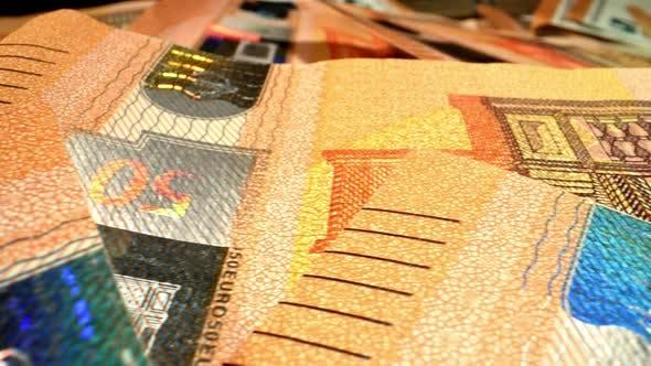 Thumbnail for Euros Banknote Macro