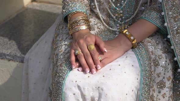 Bride in the Oriental Dress