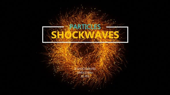 Particles Shockwaves