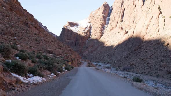 Thumbnail for drive off-road canyon gorge morocco
