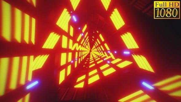 Thumbnail for Tunnel Retrowave Vj Loops Pack V2