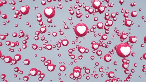 Love React Falling Hd