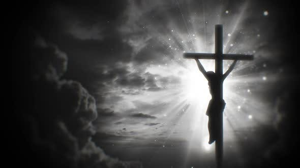 Thumbnail for Worship Background Crucifixion of Jesus Christ