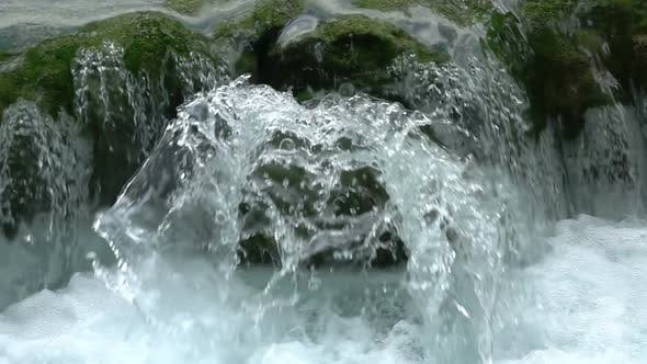 Thumbnail for Waterfall on a Mountain River