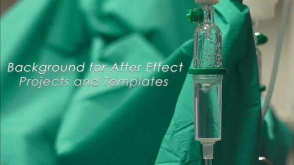 Hintergrund für After Effect Projekte und medizinische Drop Counter
