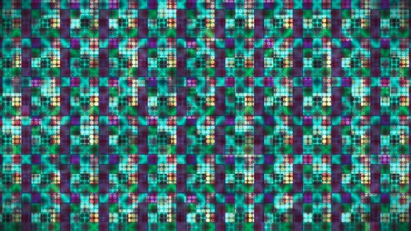 Broadcast Hi-Tech Glittering Abstract Patterns Wall 49