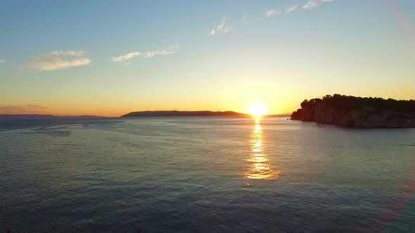 Thumbnail for Beautiful sunset in Dalmatia, Croatia