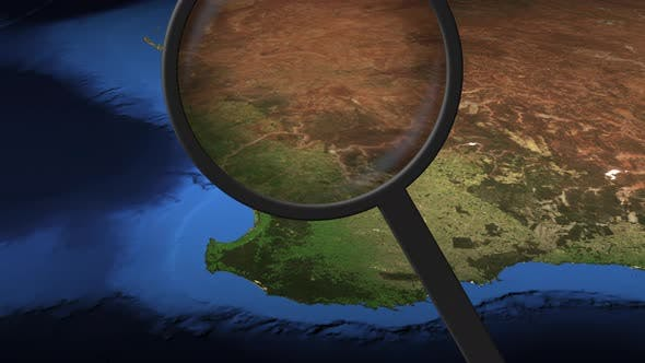 Loupe Finds Perth City on the Map