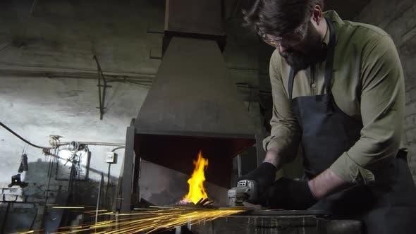 Thumbnail for Craftsman Grinding Iron Billet