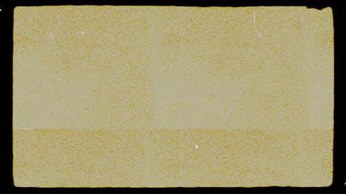 Super 8 mm Film grain Dust and Scratches.Retro template