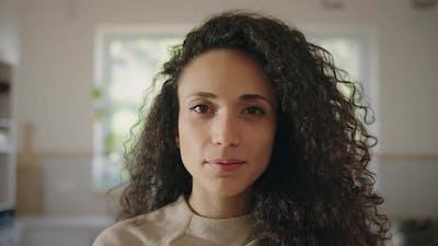 Portrait of beautiful multi ethnic woman