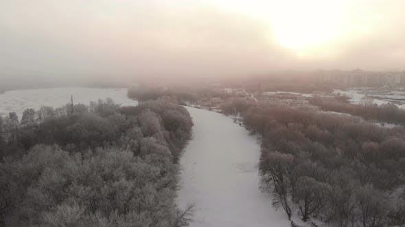 Thumbnail for Frozen River