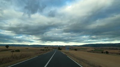 Driving in Southern France