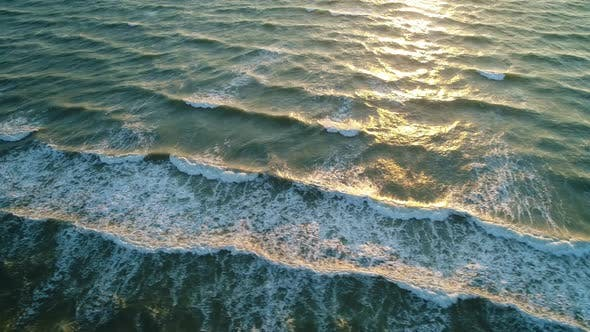 Thumbnail for Sea Waves on the Beautiful Morning Sea