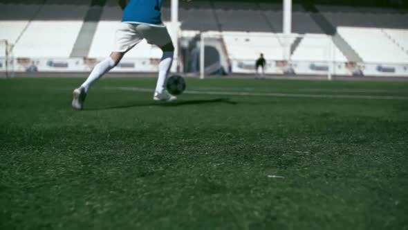Thumbnail for Playing Soccer in Stadium