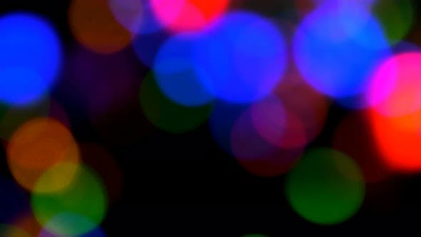 Thumbnail for Colorful Bokeh Background