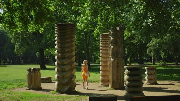 Thumbnail for Woman visiting Budapest City Park