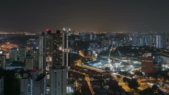 City Construction Night