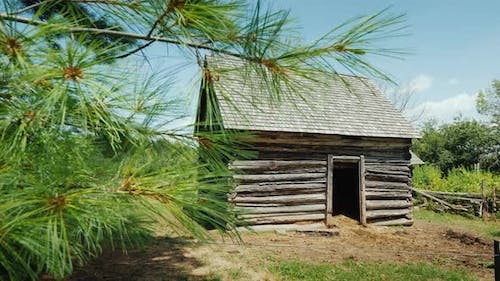 An Old Barn for Chickens and Other Poultry