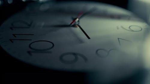Clock Face Time Lapse