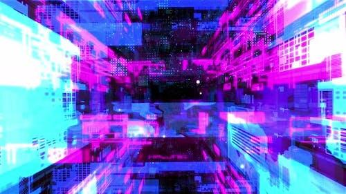 In Machine Network Tunnel 03 4K
