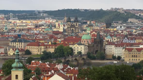 Thumbnail for View Of Prague Historical Center 2