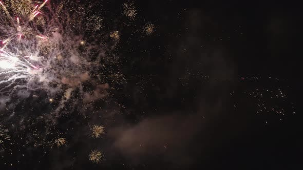 Thumbnail for Fireworks at Night Time