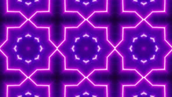 Neon Light Vj Background Loop 4K 07