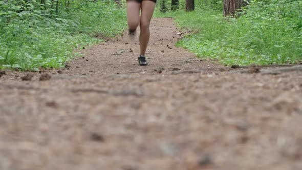 Cover Image for Sportswoman on a Run