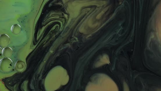 Thumbnail for Abstract Psychedelic Background. Slow Movement of Ink in a Multicolored Liquid