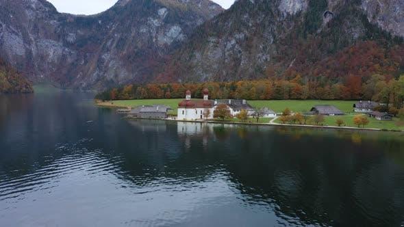 Thumbnail for Saint Bartolomew Church At The Konigsee Lake 8