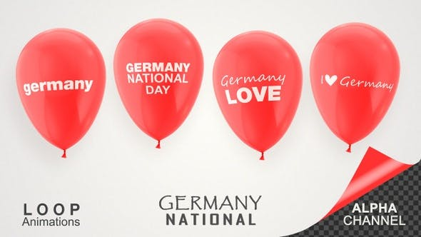 Thumbnail for Germany National Day Celebration Balloons