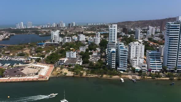 Thumbnail for Yacht Club in a Beautiful Bay in Cartagena, Colombia