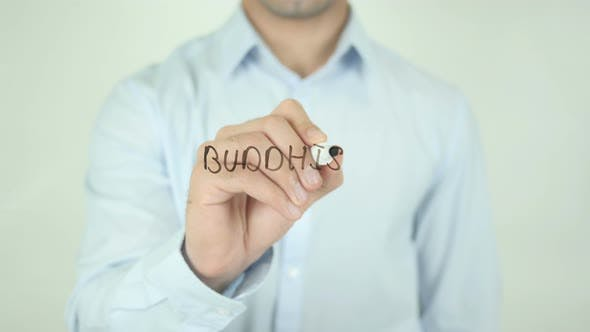 Thumbnail for Buddhism, Writing On Screen