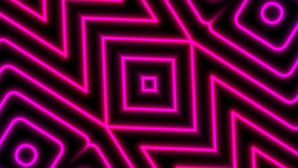 Thumbnail for Magenta Laser Neon VJ Loop Background