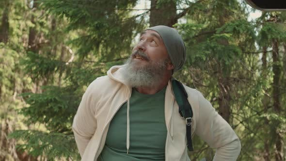 Thumbnail for Aged Man Is Going to Hike