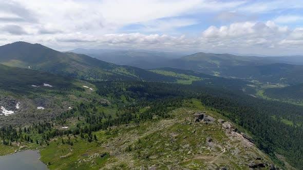 Thumbnail for Mountain under Blue Sky