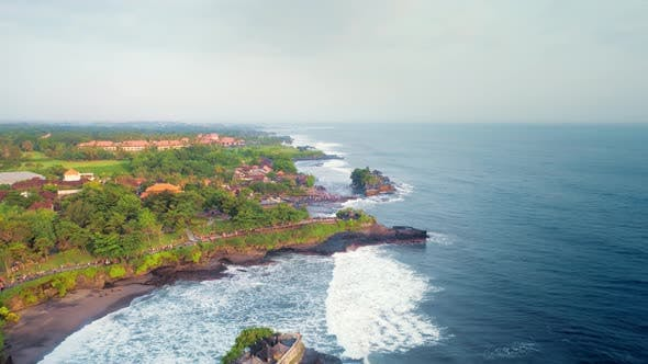Thumbnail for Aerial View Of The Beautiful Ocean Coast