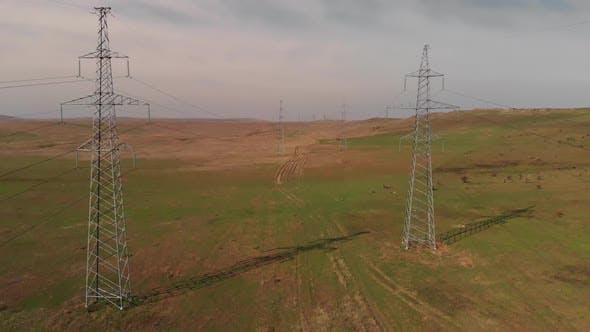 Stromübertragungsleitungen