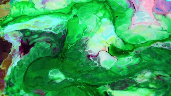 Thumbnail for Psychedelic Color Swirling And Explosion Texture