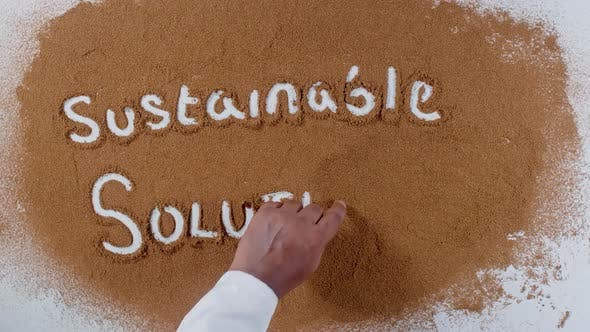 Thumbnail for Hand Writes On Soil  Sustainable Solutions