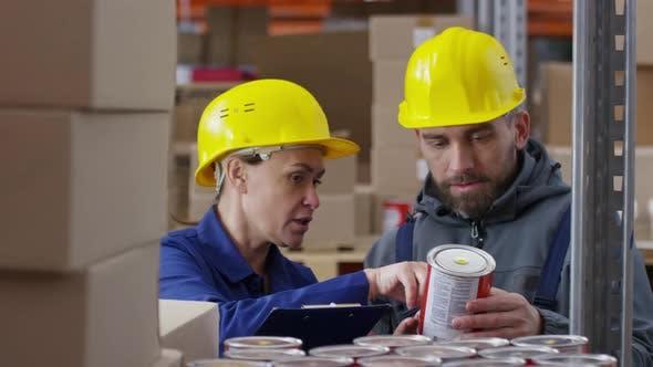 Thumbnail for Warehouse Employees Stock-Taking Goods