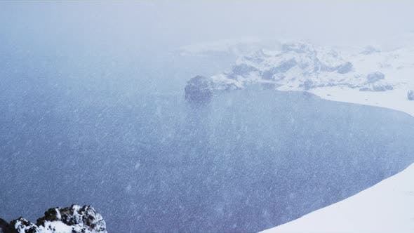 Thumbnail for Snow Covered Coast, Iceland