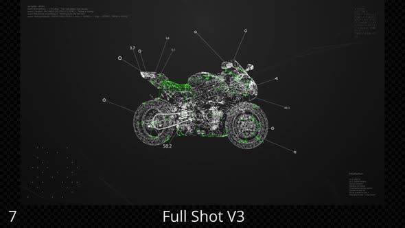 Motorbike HUD