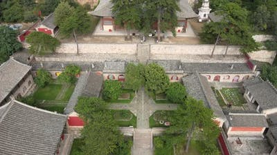 Temple in China, Historic Buildings
