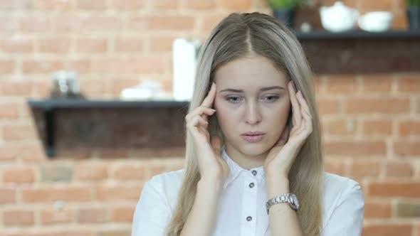 Thumbnail for Headache, Frustration, Tense Woman