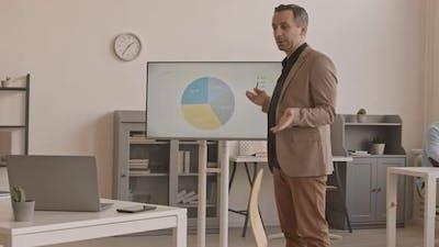 Man Making Remote Presentation