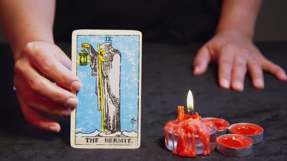Cover Image for Tarot Reader Dealing Cards 11