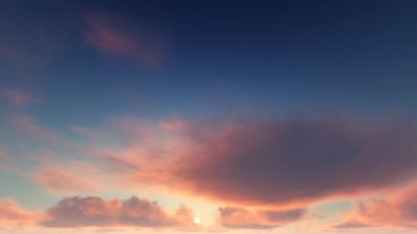 Thumbnail for Timelapse Sunset Clouds