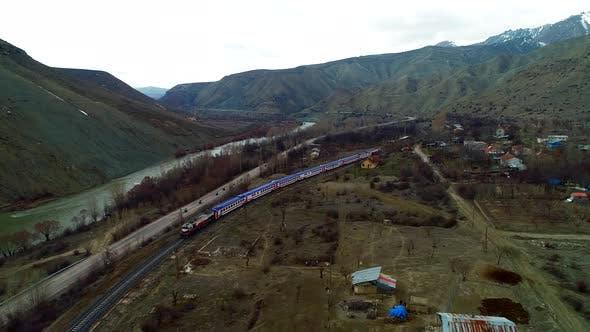 Thumbnail for Train Passing Village